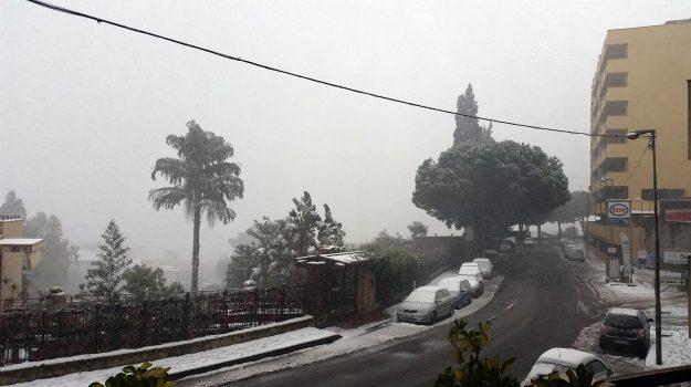 neve crotone, neve messina, neve reggio calabria, Sicilia, Meteo