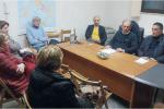Nicola Zagarella con Pasquale e Caldeloro Imbalzana di Forza Italia
