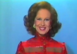 La celebre annunciatrice è stata la prima a comparire in tv quando le trasmissioni erano ancora sperimentali