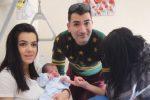 Benvenuto Sebastian: è lui il primo nato del 2019 a Catanzaro