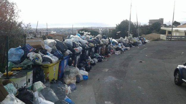 discarica, reggio, spazzatura, Reggio, Calabria, Cronaca