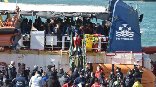 migranti, migranti sea watch a messina, sea watch catania, Sicilia, Cronaca