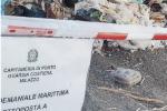 L'area sequestrata a Milazzo
