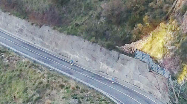 chiusura statale 107, frana, paola, Cosenza, Calabria, Cronaca