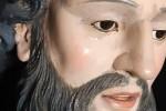 Lacrime da una statua di San Francesco a Cessaniti? Il parroco invita alla prudenza e alla preghiera - Foto