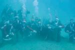 Messina, Babbo Natale arriva dai fondali del mare