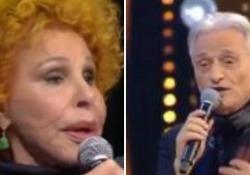 Lite tra cantanti a «Ora o mai più», il programma di Rai Uno. Anche Rettore critica «Vattene amore»: «Una menata».