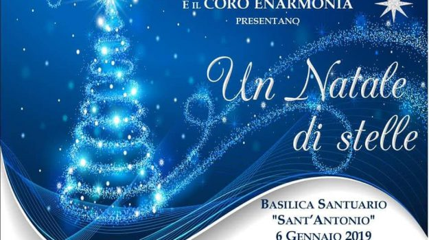 Concerto del Coro Enarmonia, concerto epifania messina, concerto santuario sant'antonio, Messina, Sicilia, Noi Magazine