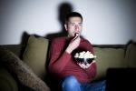 Film violenti e di paura possono mettere a rischio la linea
