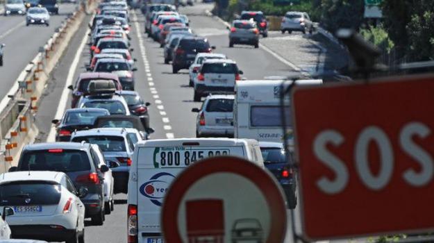 anas, esodo estivo, traffico, Sicilia, Cronaca