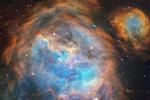 Una culla di stelle nella Grande Nube di Magellano (fonte: ESO, A McLeod et al.)