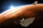 Rappresentazione artistica dei cubesat MarCo della Nasa (fonte: NASA/JPL-Caltech)