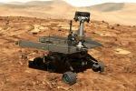 Rappresentazione artistica del rover Opportunity su Marte (fonte: NASA)