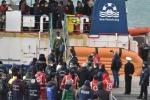 Sea-Watch ship enters port of Catania