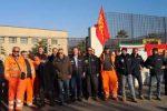 Lamezia, continua la mobilitazione dei lavoratori della Sirti