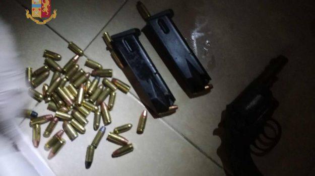 armi e munizioni messina, controlli criminalità messina, squadra mobile messina, Messina, Sicilia, Cronaca