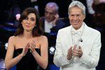Virginia Raffaele e Claudio Baglioni