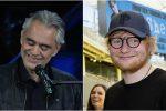 """Andrea Bocelli duetta di nuovo con Ed Sheeran: ecco il videoclip di """"Amo soltanto te"""""""