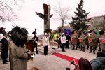 Crosia, inaugurato il nuovo monumento ai caduti: le foto