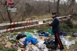 Rifiuti tossici lungo la provinciale 219 a Cosenza, scoperta una discarica abusiva