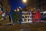 Il martirio delle foibe, fiaccolata a Messina per non dimenticare: le foto