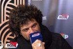 """Le interviste di Sanremo, Renga: """"Dopo il Festival parte il mio tour"""""""