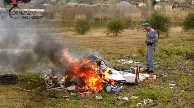 deferito imprenditore, rende, rifiuti speciali, Cosenza, Calabria, Cronaca