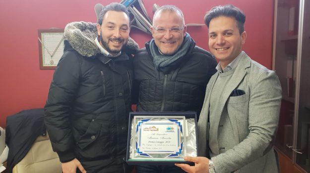 premio coraggio vibo valentia, premio imprenditore antimafia, pro loco vibo, maurizio mazzotta, Catanzaro, Calabria, Cronaca