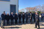 Visita del ministro Toninelli a Corigliano Rossano, le immagini del suo arrivo