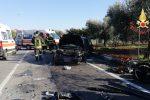 Incidente stradale a Lamezia Terme, scontro tra due auto: tre feriti