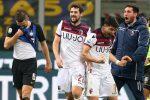 Serie A, notte fonda per l'Inter: a San Siro vince il Bologna. Solo un pari per Fiorentina e Sassuolo