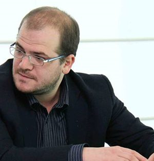 Il segretario del Pd Luigi Guglielmelli