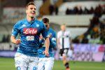 Serie A, il Napoli parla polacco: poker al Parma grazie a Zielinski e Milik