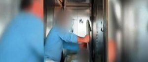 Striscia la Notizia all'ospedale di Locri: un solo ascensore, pazienti portati per le scale in braccio - Video