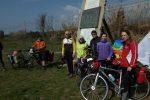 A Lamezia pedalata per la pace in ricordo dei ciclisti morti a Riace: le foto