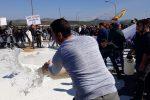 Pastori in crisi in Sicilia, il video della protesta nella zona di Dittaino