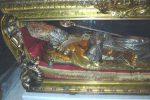 Festa degli innamorati, fedeli a Belvedere Marittimo per le reliquie di San Valentino