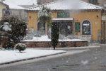 Neve in provincia di Vibo, tetti imbiancati e disagi nel comprensorio delle Serre - Foto