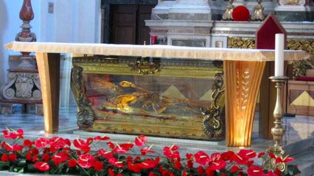 Festa della promessa, reggio, tomba san valentino, Reggio, Calabria, Società