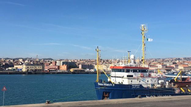 migranti, migranti sea watch a messina, sea watch catania, Matteo Salvini, Sicilia, Cronaca