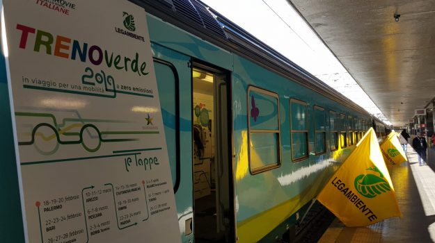 ferrovie dello stato, legambiente, treno verde, Sicilia, Società