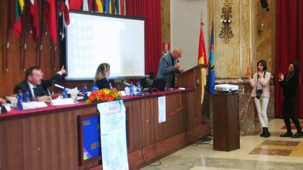 convegno Cisr, messina, Pippo Franco Messina, Pippo Franco, Messina, Sicilia, Cronaca