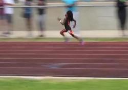 L'incredibile sprint di Rudolph «Blaze» Ingram