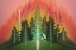 Rappresentazione della ricerca come una foresta nella quale ogni albero è un progetto e le radici di nuove piante hanno un'alta carica innovativa (fonte: Lingfei Wu/University of Chicago Knowledge Lab)