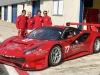 Primi giri su Ferrari GT3 per Villeneuve e Fisichella