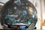 Il primo display sferico per la realtà virtuale (fonte: Clare Kiernan, UBC)