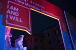 Si illumina contro il tumore la fontana di piazza Navona