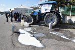 Latte, protesta viva anche in Calabria: allevatori in strada a Crotone
