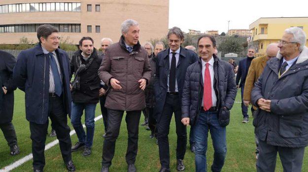 centro dederale dilettanti calcio, centro federale calcio catanzaro, inaugurato campo erba sintetica catanzaro, Cosimo Sibilia, Catanzaro, Calabria, Sport