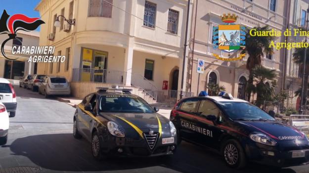 furto poste favara, Sicilia, Cronaca
